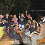 grupo de Buceo Navarra bailando