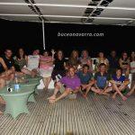 Grupo tras la cena