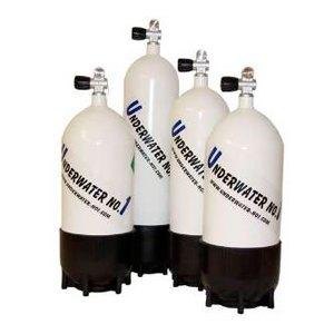 4 botellas de buceo